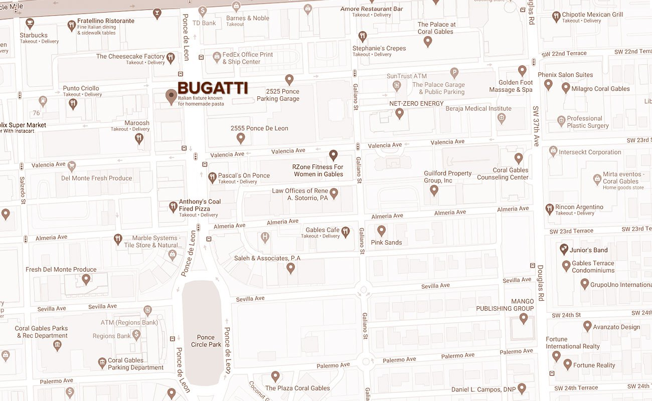 Location Bugatti